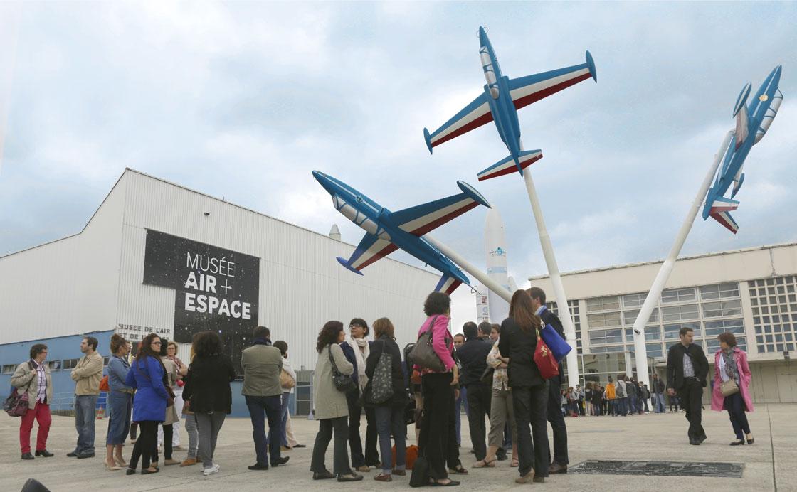 CONVENTION COMMERCIALE 2013 Arrivée des participants au Musée de l'Air et de l'Espace au Bourget